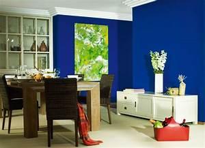 Schöner Wohnen Farbe Blau : wandgestaltung in blau sch ner wohnen farbe ocean planungswelten ~ Frokenaadalensverden.com Haus und Dekorationen