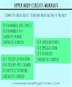 Upper Body Circuit Workout