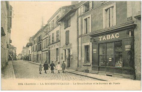 timbre bureau de tabac 16 la rochefoucauld la grande rue et le bureau de poste