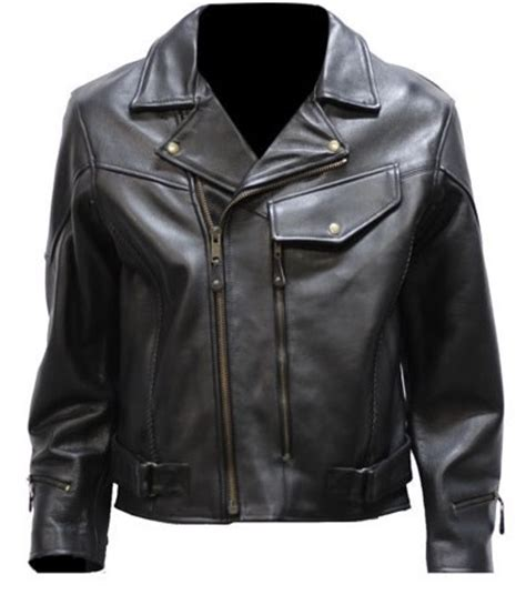 vented motorcycle jacket men 39 s braided vented leather motorcycle jacket