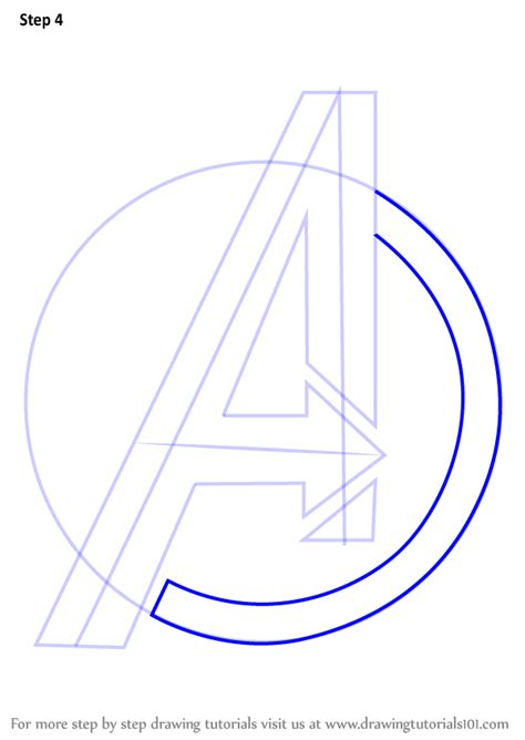 learn   draw avengers logo brand logos step  step