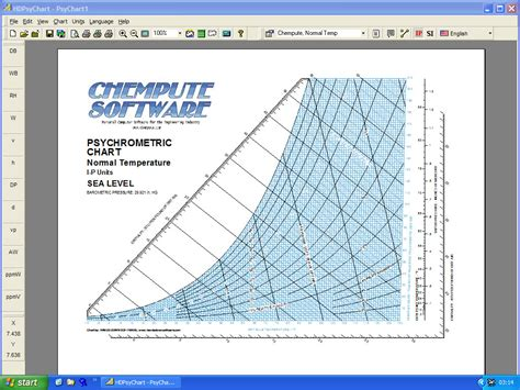 psychrometric chart software airea condicionado