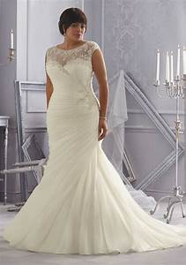 morilee bridal crystal beaded embroidery on organza With organza wedding dress