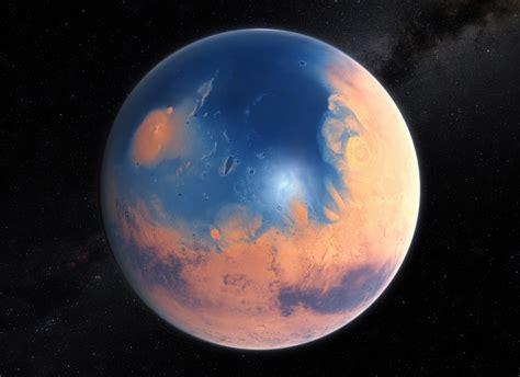 mars der einstmals blaue planet