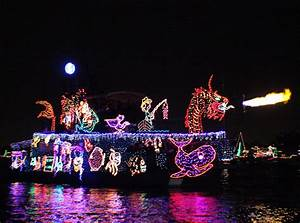 Balboa Island 107th Annual Newport Beach Christmas Boat