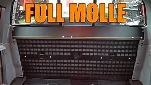 Toyota Tacoma Mod Install  U2014 Full Rear Seat Molle Rack