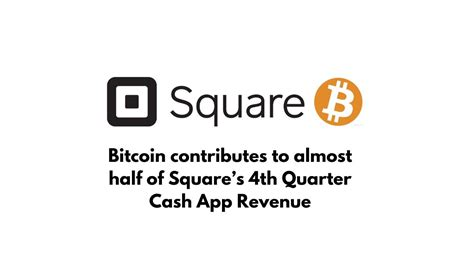 Bitcoin cash brings sound money to the world. Bitcoin is 50% Contributor for 4th Quarter Cash App ...