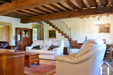 chambre avec coin salon farmhouse for sale paray le monial burgundy 12696