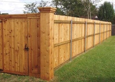 How To Build Backyard Fence by Fencing Contractor Custom Fences Lake Charles Lafayette