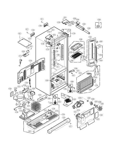 refrigerator parts kenmore elite refrigerator parts diagram