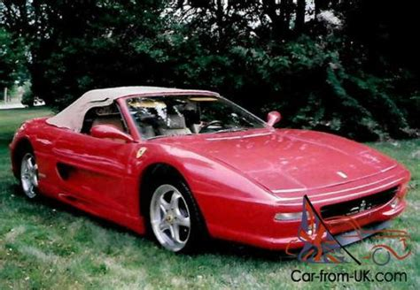 Specializing in factory and performance parts and accessories for your pontiac fiero. 1985 Replica/Kit Makes Ferrari F355