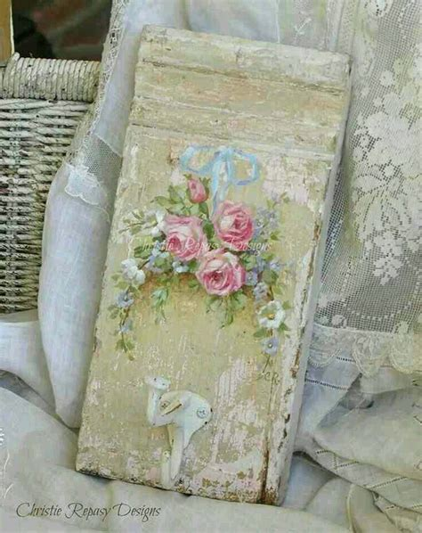 shabby chic work christie repasy art pinterest creative art work and art