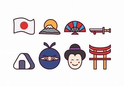 Japan Icon Vector Vecteezy Clipart Vectors