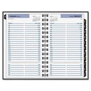 at a glance dayminder hardcover daily appointment book