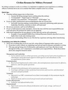 download military resume templates for free formtemplate With civilian personnel online resume builder