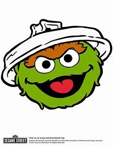 oscar the grouch; image to be used for trash can ...