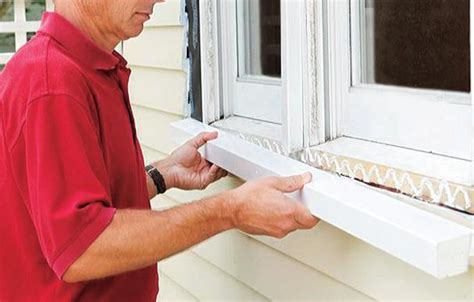How To Repair A Rotted Windowsill