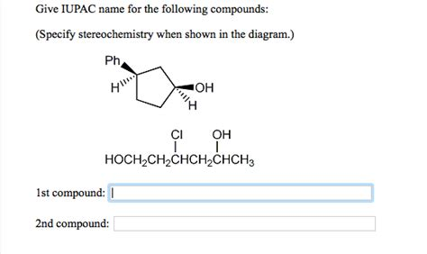 Naming Compound Diagram by Question Help Show Transcribed Image Text