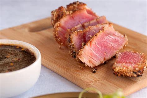 best way to cook tuna steak seared ahi tuna steaks