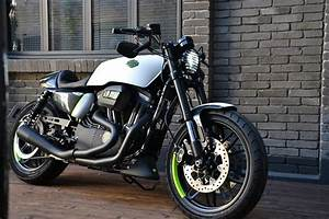 Racing Caf U00e8  Harley Sportster Roadster 1200  U0026quot Concept U0026quot  By H