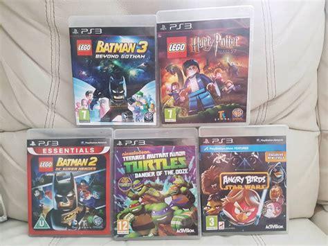 5 Ps3 Games Lego Batman 2 3 Lego Harry Potter Years 5