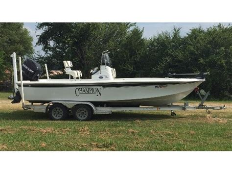 Bay Boats For Sale Oklahoma by Chion Boats Boats For Sale In Oklahoma