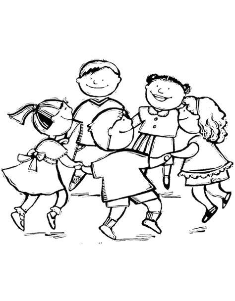 disegni con bambini che giocano immagini di bambini che giocano da colorare
