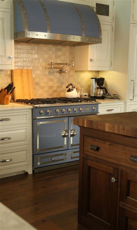 La Cornue Cornufe Stove In Provence Blue Design Ideas
