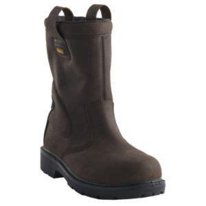 dewaltbrown leather steel toe cap rigger boot rigger