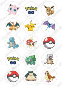 pokemon cupcake topper template images