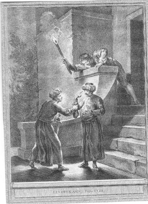 la les deux amis des fables de la fontaine athena  clio pour vous servir