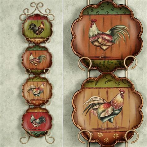 Decorative Chicken Plates - best 25 rooster plates ideas on country table