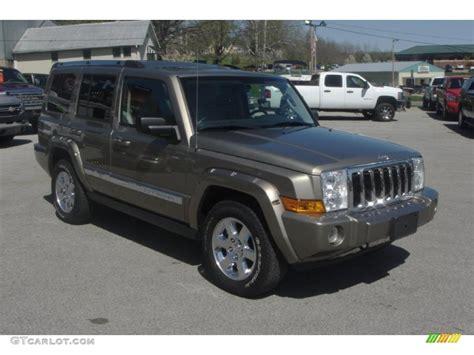 jeep limited 2006 2006 light khaki metallic jeep commander limited 4x4
