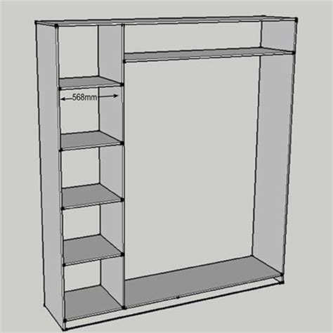 Diy Bedroom Cupboards Plans by Home Dzine Home Diy How To Build And Assemble Built In