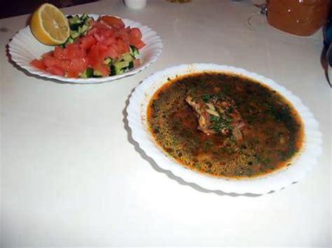 cuisine tunisienne chorba recette de chorba soupe tunisienne avec des quot langues d