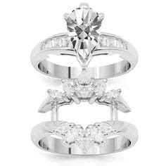 pear shaped engagement rings images   pear
