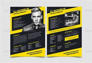 dj press kit template templates resume examples With band epk template