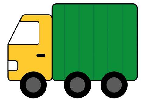 Truck Clip Truck Clipart Top View Truck Clip Artpropulsion Clipart