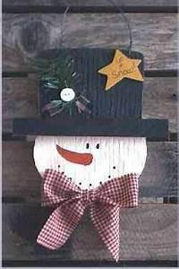 Snowman Christmas Crafts Wood Snowball the Snowman Pattern