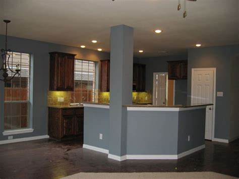 Wall Colors For Kitchen With Dark Cabinets  Home Combo