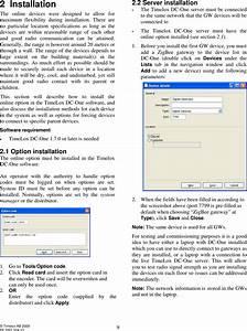 Timelox En055 Zigbee End Node User Manual 66 3081 004 10