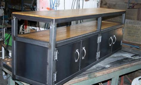 bureau bois massif ancien création meuble fabrication sur mesure meuble bois métal