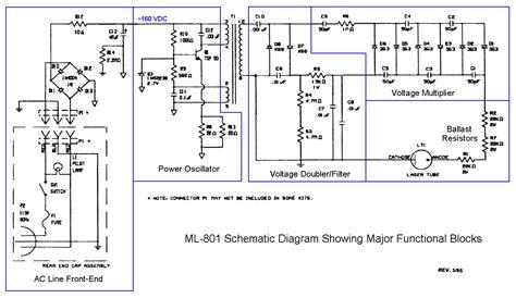 sams laser faq complete hene laser power supply schematics