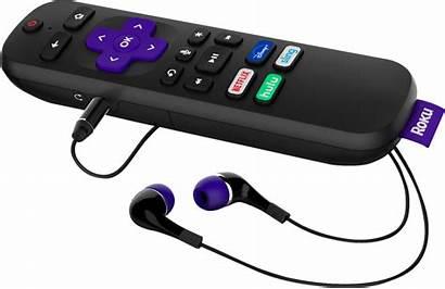Roku Stick Remote Streaming Headphone Volume Edition