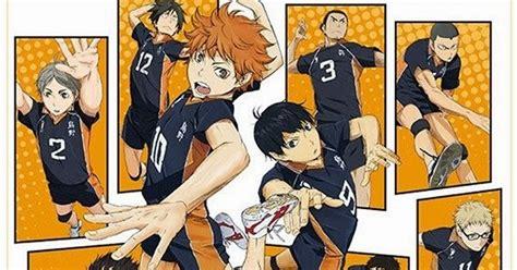 Anime Genre Bola Voli Anime Anime Bergenre Olahraga Yang Akan Tayang Musim Semi