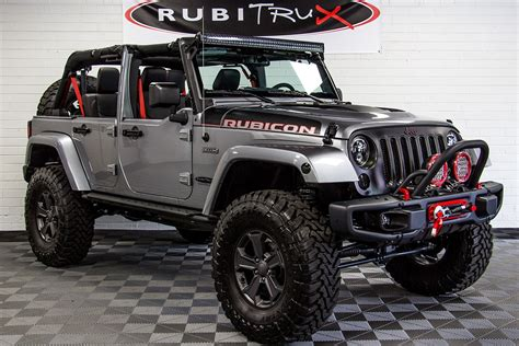 jeep wrangler custom 2017 jeep wrangler rubicon recon unlimited billet
