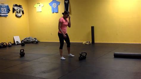 kettlebell double swing snatch