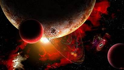 Planets Stars Planet 1440 Space 2560 Storm