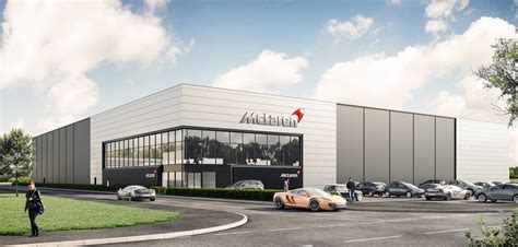 mclaren factory mclaren announces new chassis factory in the uk