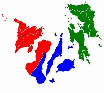 Visayas Regions Map Islands Visayan Central Eastern